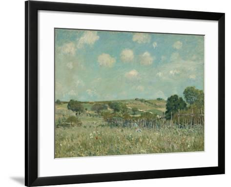 Meadow, 1875-Alfred Sisley-Framed Art Print