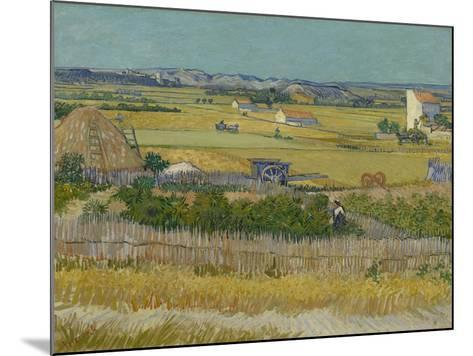 The Harvest, 1888-Vincent van Gogh-Mounted Giclee Print