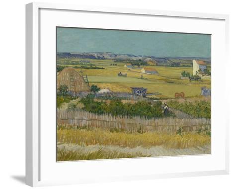 The Harvest, 1888-Vincent van Gogh-Framed Art Print