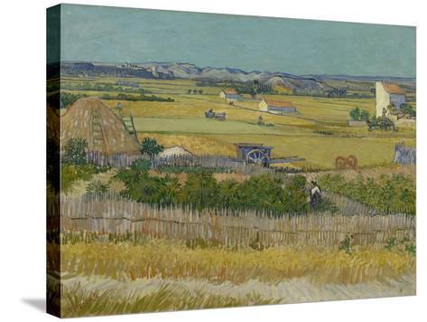 The Harvest, 1888-Vincent van Gogh-Stretched Canvas Print