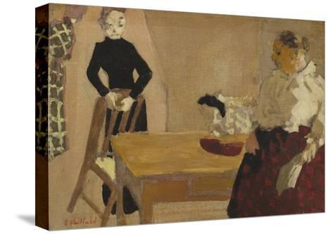 The Conversation, 1891-Edouard Vuillard-Stretched Canvas Print