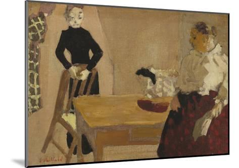 The Conversation, 1891-Edouard Vuillard-Mounted Giclee Print