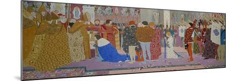 The Crowning at Reims of the Dauphin, from Joan of Arc Series E, 1907-Louis Maurice Boutet De Monvel-Mounted Giclee Print