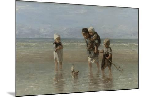Children of the Sea, 1872-Jozef Israels-Mounted Giclee Print