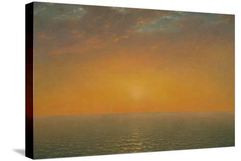 Sunset on the Sea, 1872-John Frederick Kensett-Stretched Canvas Print