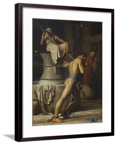 Samson and the Philistines, 1863-Carl Bloch-Framed Art Print