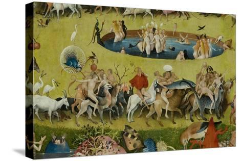 The Garden of Earthly Delights, 1490-1500-Hieronymus Bosch-Stretched Canvas Print
