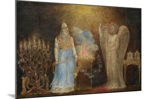 The Angel Appearing to Zacharias, 1799–1800-William Blake-Mounted Giclee Print