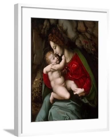 Madonna and Child, c.1520-Francesco Ubertini Verdi Bachiacca-Framed Art Print