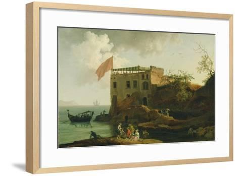 View of Gaiola, c.1770-90-Pierre Jacques Volaire-Framed Art Print