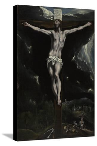 Christ on the Cross, 1600-10-El Greco-Stretched Canvas Print
