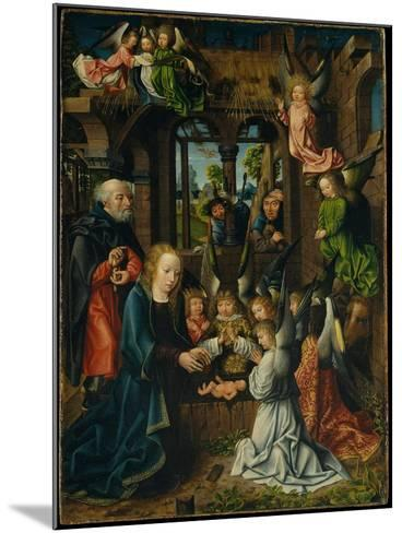 The Adoration of the Christ Child, c.1500- Master of Frankfurt-Mounted Giclee Print