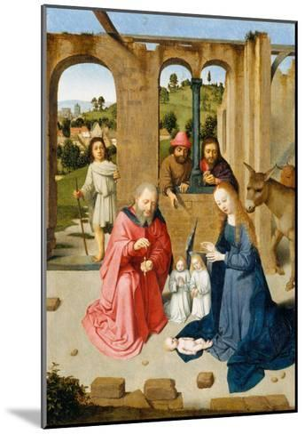 The Nativity, c.1482-Gerard David-Mounted Giclee Print