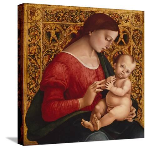 Madonna and Child, c.1505-07-Luca Signorelli-Stretched Canvas Print