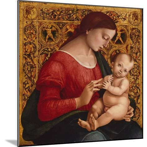 Madonna and Child, c.1505-07-Luca Signorelli-Mounted Giclee Print