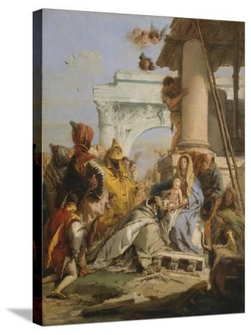 The Adoration of the Magi-Giovanni Battista Tiepolo-Stretched Canvas Print