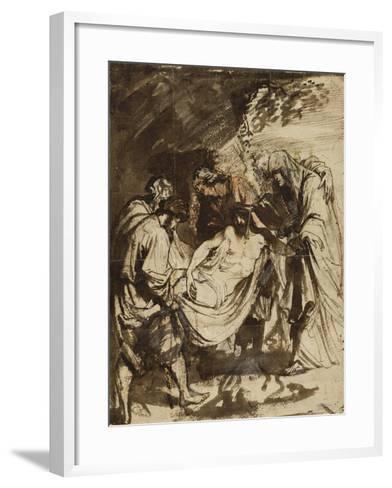 The Entombment (1617-1618)-Anthony van Dyck-Framed Art Print