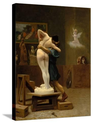 Pygmalion and Galatea, c.1890-Jean Leon Gerome-Stretched Canvas Print