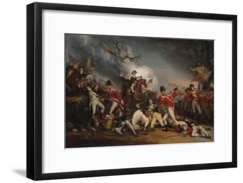 The Death of General Mercer at the Battle of Princeton, January 3, 1777-John Trumbull-Framed Art Print