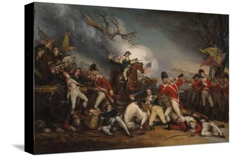 The Death of General Mercer at the Battle of Princeton, January 3, 1777-John Trumbull-Stretched Canvas Print