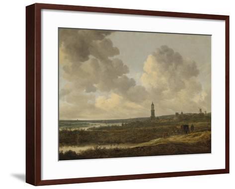 View of Rhenen, 1646-Jan Van Goyen-Framed Art Print