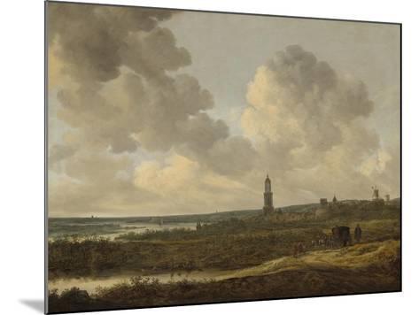View of Rhenen, 1646-Jan Van Goyen-Mounted Giclee Print
