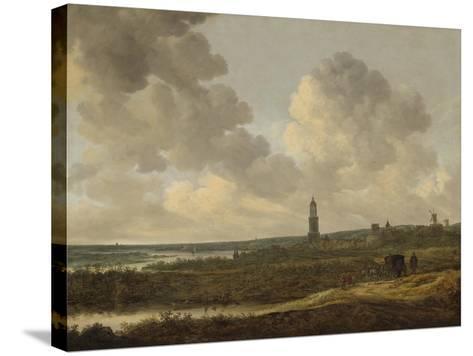 View of Rhenen, 1646-Jan Van Goyen-Stretched Canvas Print