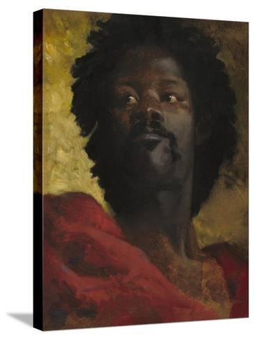 Head of a Moor, c.1870-Henri-Victor Regnault-Stretched Canvas Print