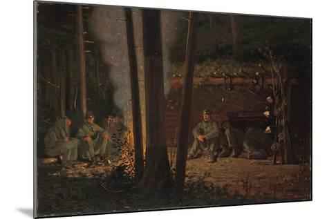 In Front of Yorktown-Winslow Homer-Mounted Giclee Print