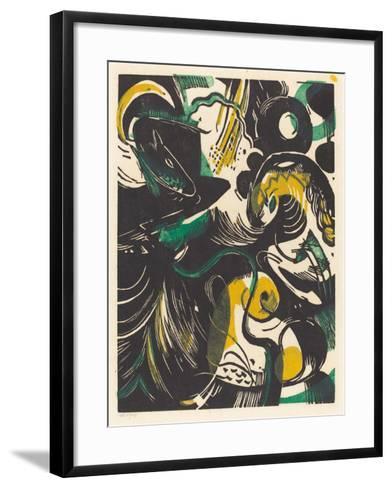 Genesis II (Schopfungsgeschichte II), 1914-Franz Marc-Framed Art Print