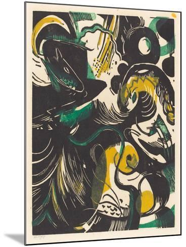 Genesis II (Schopfungsgeschichte II), 1914-Franz Marc-Mounted Giclee Print