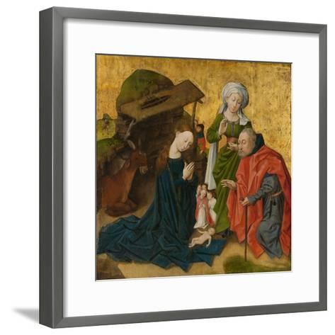 The Nativity, c.1460-Netherlandish School-Framed Art Print