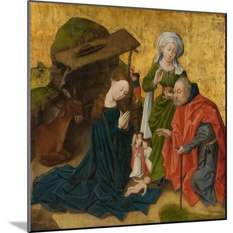 The Nativity, c.1460-Netherlandish School-Mounted Giclee Print