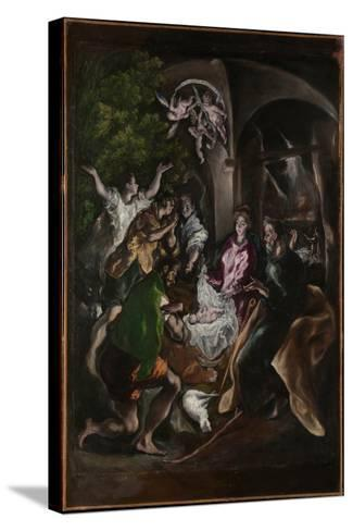 The Adoration of the Shepherds, c.1605-10-El Greco-Stretched Canvas Print