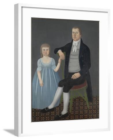 Comfort Starr Mygatt and Lucy Mygatt, 1799-John Brewster-Framed Art Print