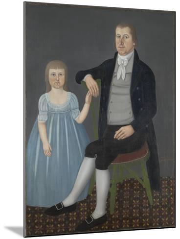 Comfort Starr Mygatt and Lucy Mygatt, 1799-John Brewster-Mounted Giclee Print