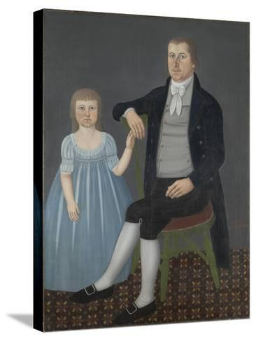 Comfort Starr Mygatt and Lucy Mygatt, 1799-John Brewster-Stretched Canvas Print