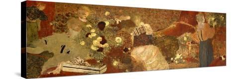 The Album, 1895-Edouard Vuillard-Stretched Canvas Print