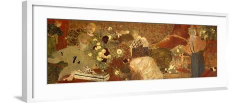The Album, 1895-Edouard Vuillard-Framed Art Print