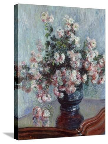 Chrysanthemums, 1882-Claude Monet-Stretched Canvas Print