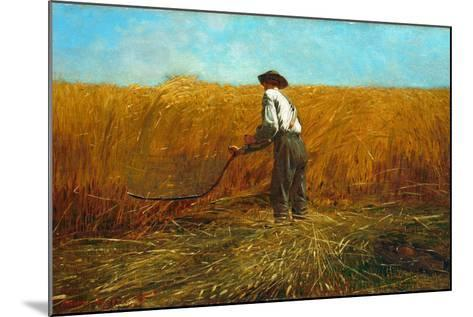 The Veteran in a New Field, 1865-Winslow Homer-Mounted Giclee Print