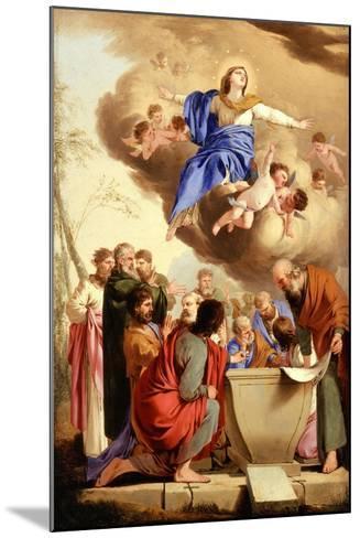 The Assumption, c.1653-5-Laurent de La Hire or La Hyre-Mounted Giclee Print