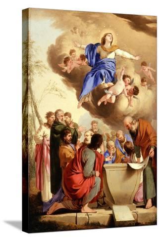 The Assumption, c.1653-5-Laurent de La Hire or La Hyre-Stretched Canvas Print