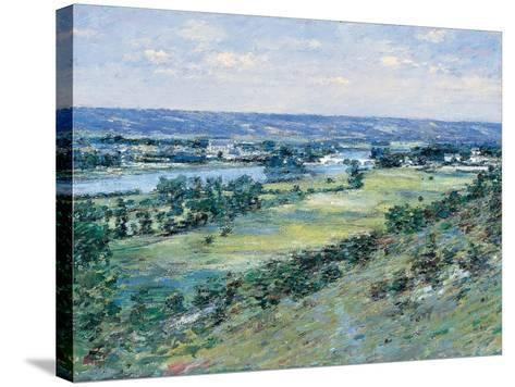 The Valley of the Seine, from the Hills of Giverny, 1892-Theodore Robinson-Stretched Canvas Print