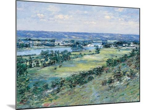 The Valley of the Seine, from the Hills of Giverny, 1892-Theodore Robinson-Mounted Giclee Print