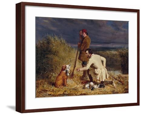 The Retrieve, 1850-William Tylee Ranney-Framed Art Print