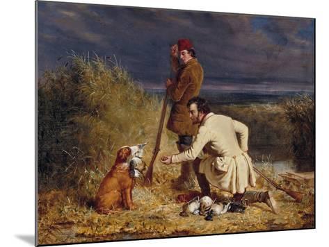 The Retrieve, 1850-William Tylee Ranney-Mounted Giclee Print
