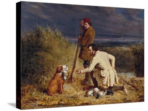 The Retrieve, 1850-William Tylee Ranney-Stretched Canvas Print