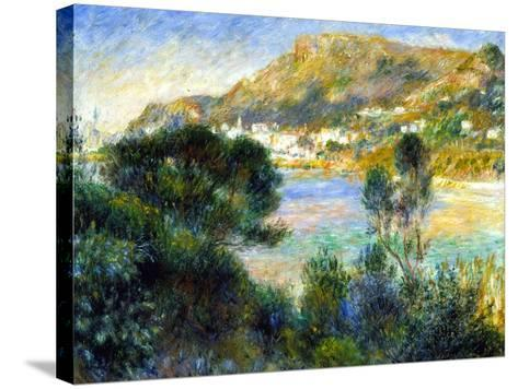 View From Cap Martin of Monte Carlo, c.1884-Pierre-Auguste Renoir-Stretched Canvas Print
