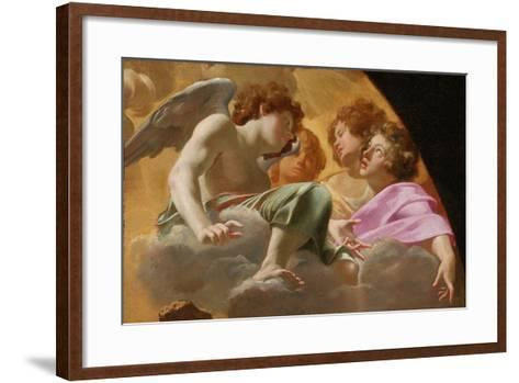 Model for Altarpiece in St. Peter's, 1625-Simon Vouet-Framed Art Print
